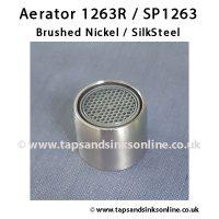 Aerator 1263R SP1263 BN SS Finish