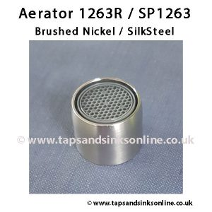 Aerator 1263R SP1263 BN SS Finish
