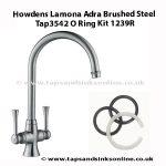 Howdens Lamona Adra Tap3542 O Ring Kit 1239R
