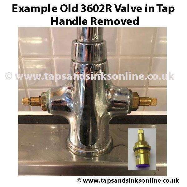 Old 3602R Valve in Tap Example