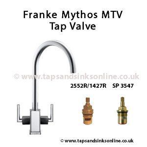 Franke Mythos MTV Black Shoulder Tap Valve