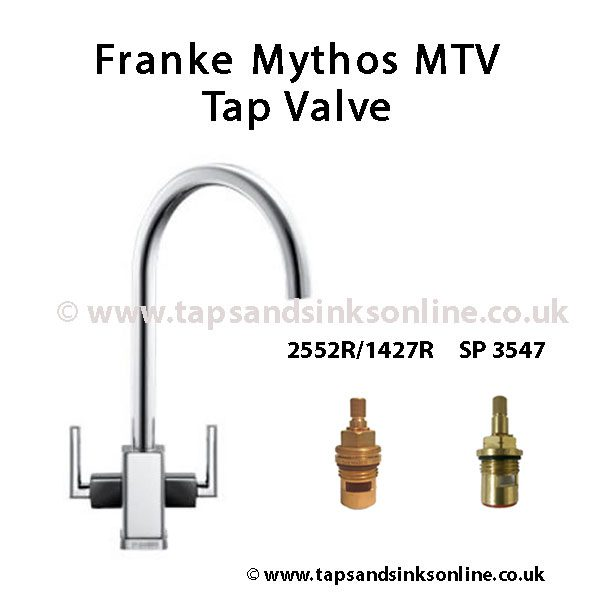 Franke Mythos MTV Black Shoulder Tap Valve