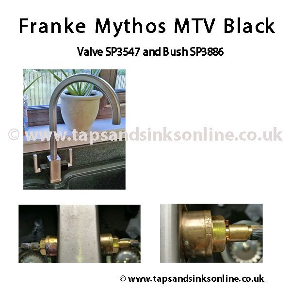 Franke Mythos MTV Valve SP3547 Bush SP3886 Example