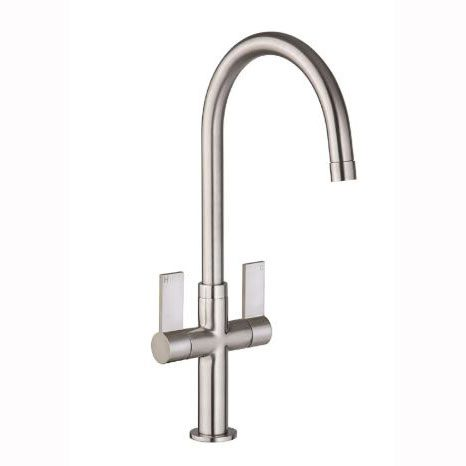 Mondella Concerto Sleek Twin Level Brushed Nickel Tap