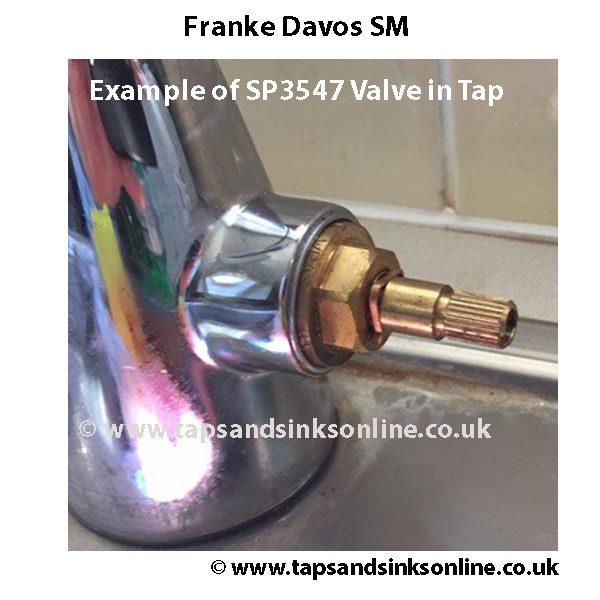 Franke Davos SM SP3547 Valve in Tap