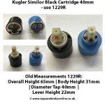 Kugler Similor Black Cartridge 40mm use 1229R