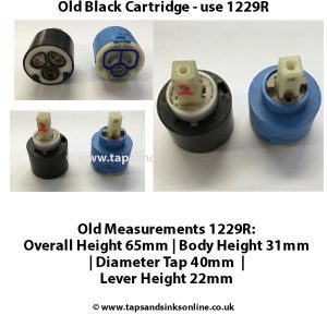 Old Black 40mm Cartridge use 1229R