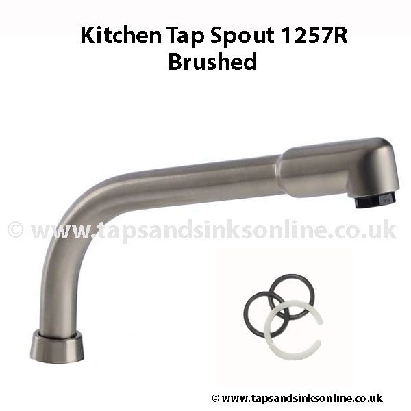 Spout 1257R Brushed