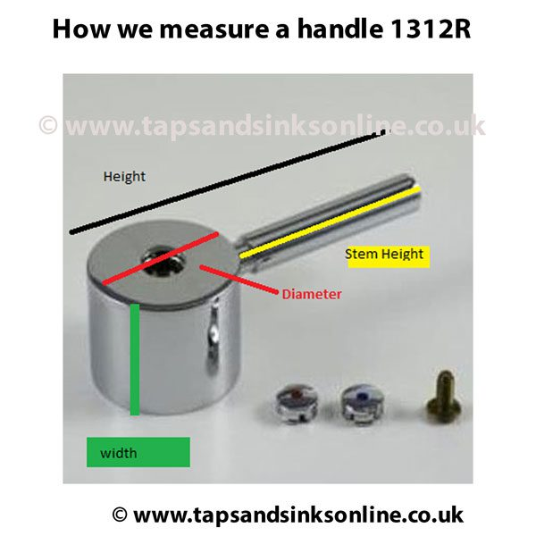 Handle measurement guide 1312R