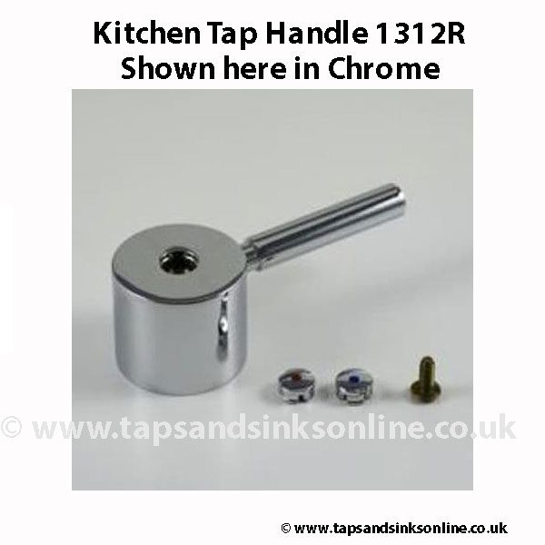 Kitchen Tap Handle 1312R CH