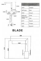 Blade Kitchen Designer Tap - Specification