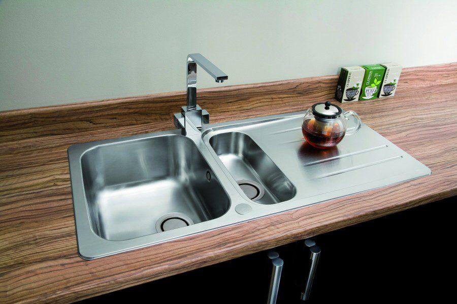 Carron Phoenix Cuba 150 Low Profile Kitchen Sinks