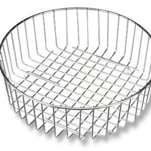 Round sink wire basket