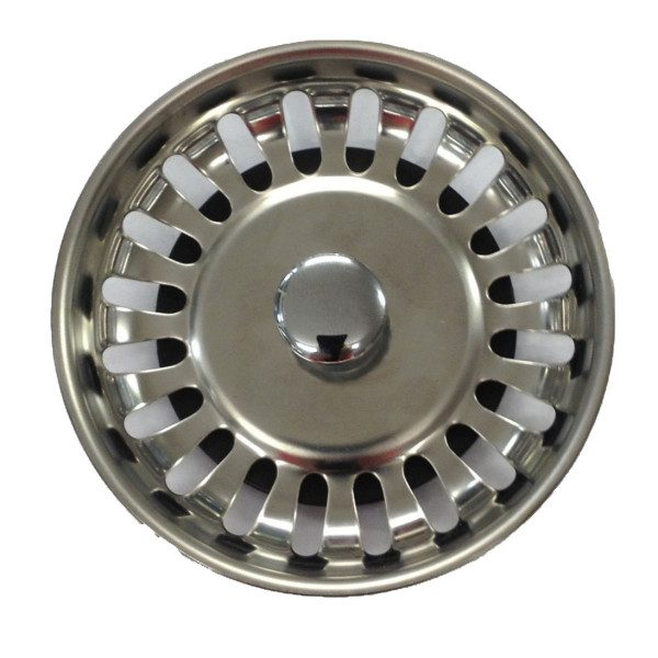 replacement pop up kitchen sink plug carron basket strainers taps and sinks 9230