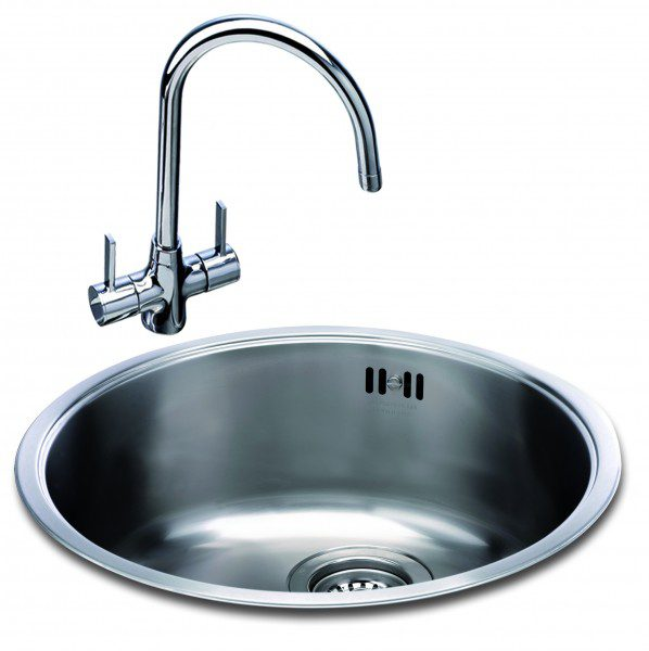 round ceramic kitchen sink carron carisma 400 bowl kitchen sinks taps 4884