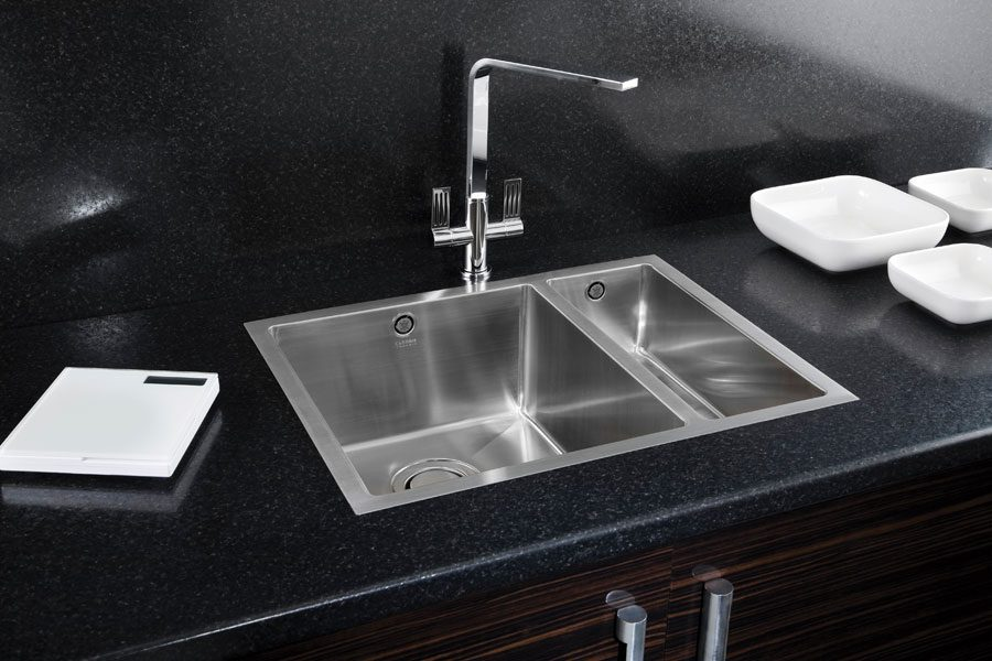 inset kitchen sink carron deca 150 kitchen sinks and fittings taps 1870