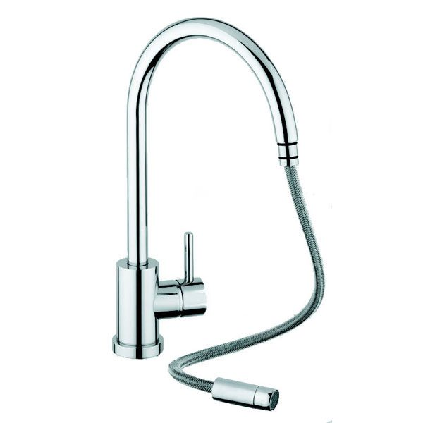 Kitchen Tap Fittings: San Marco Elmira Pull Out Kitchen Taps And Fittings From