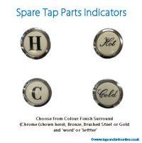 Spare Tap Parts Indicators