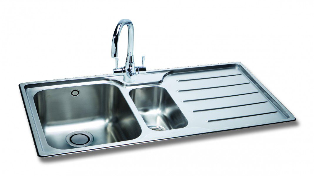 home kitchen sinks carron phoenix ibis 150 kitchen sinks
