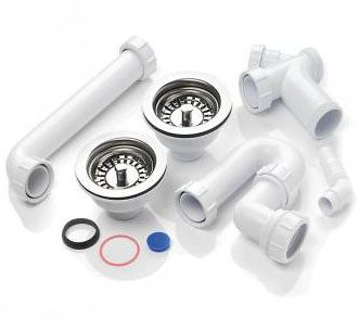 example of kitchen sink waste plumbing kit - Kitchen Sink Wastes
