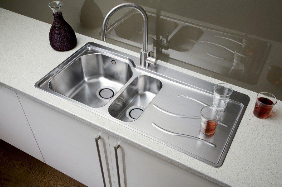 Kitchen Sink Phoenix : Home ? Kitchen Sinks ? Carron Phoenix Maui 150 Kitchen Sinks