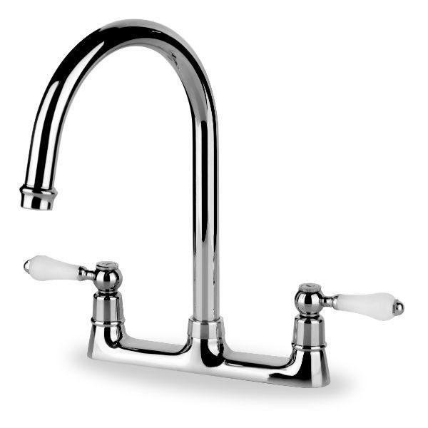 Good Taps Uk Kitchen Sinks Part - 7: San Marco Riviera Palazzo Deckmixer Kitchen Tap