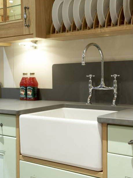kitchen with belfast sink carron kitchen sink belfast kitchen sink 100 6493