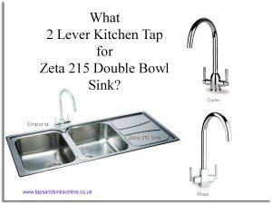 Blog: Zeta 215 double bowl sink and kitchen taps