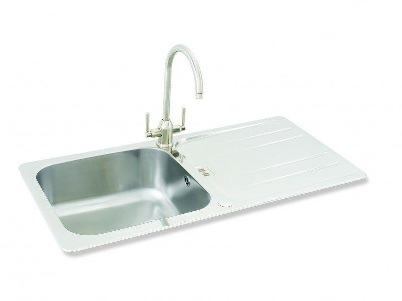 Kitchen Sinks Phoenix Carron phoenix cuba 100 kitchen sinks fittings taps and sinks online carron phoenix cuba 100 workwithnaturefo
