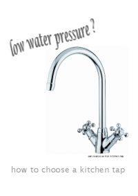 Low Water Pressure?
