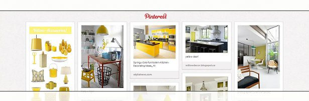 Visit Our Pinterest Board - 'kitchens ~ yellow accents'