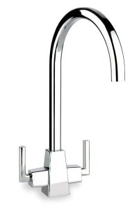Maya Designer Kitchen Tap in Chrome