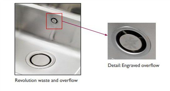 The revolution pop up waste and overflow taps and sinks online in revolution waste overflow detail workwithnaturefo