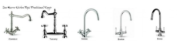 San Marco Kitchen Taps – 5 Traditional Kitchen Taps Guide
