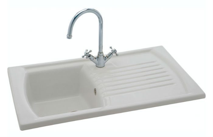 Carron Phoenix Kitchen Sink - Solaris 100 Ceramic Kitchen Sink ...