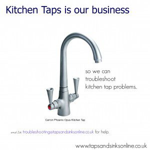 we can troubleshoot kitchen tap problems
