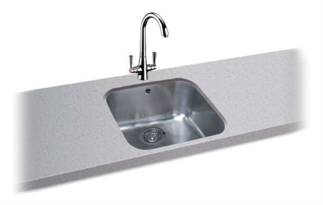 Carron Phoenix Zeta 105 Undermount Kitchen Sinks