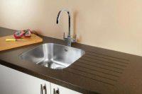 Zeta 105 Undermount Sink Lifestyle